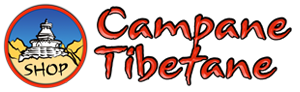 Campane Tibetane: oggetti rituali, mobili, statue, gioielli e monili Logo