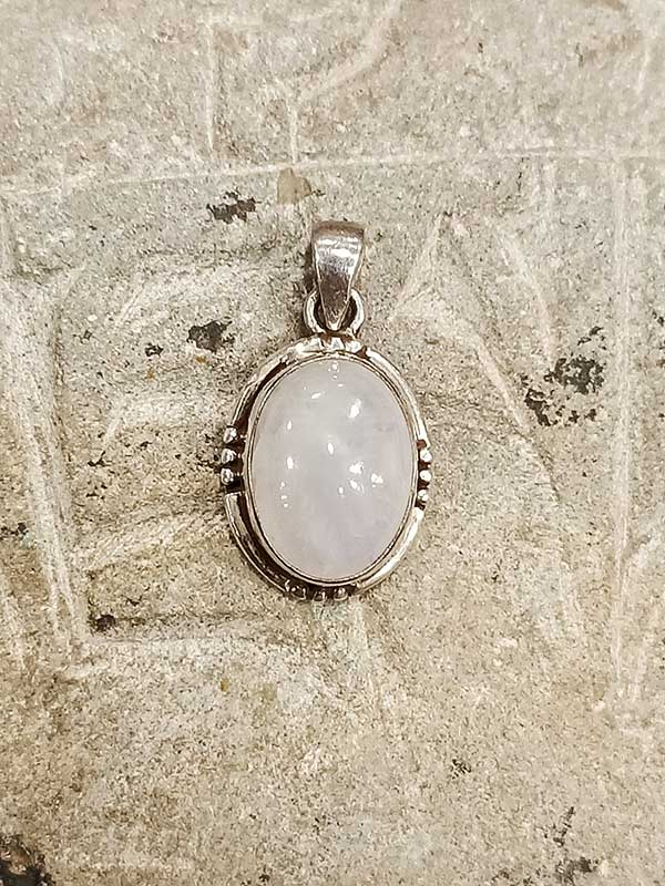 pendente pietra di luna