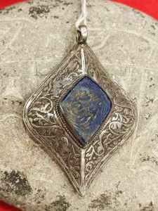 pendente afghano lapislazzuli