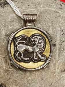 pendente persiano leone e sole