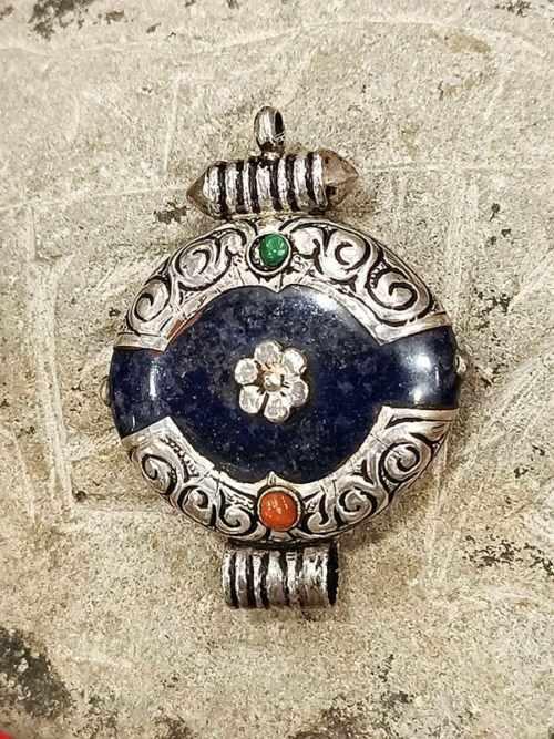 pendente tibetano lapislazzuli
