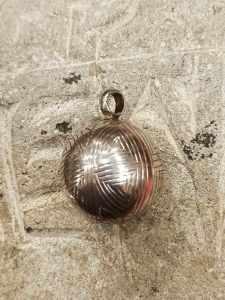 pendente tibetano argento chiama angeli