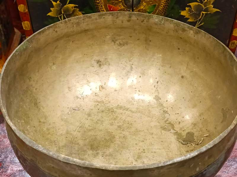 campana tibetana antica ultabati