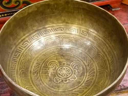 campana tibetana vecchia