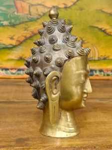 statua testa di buddha