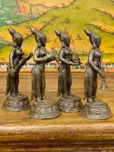 Statue di 4 musicanti