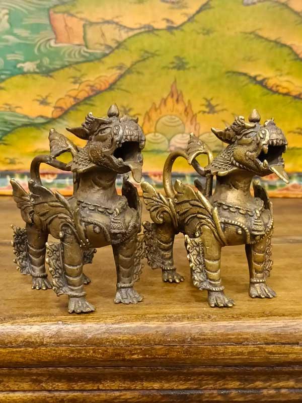 statue di Leoni guardiani