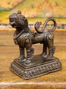 statua di Leone guardiano