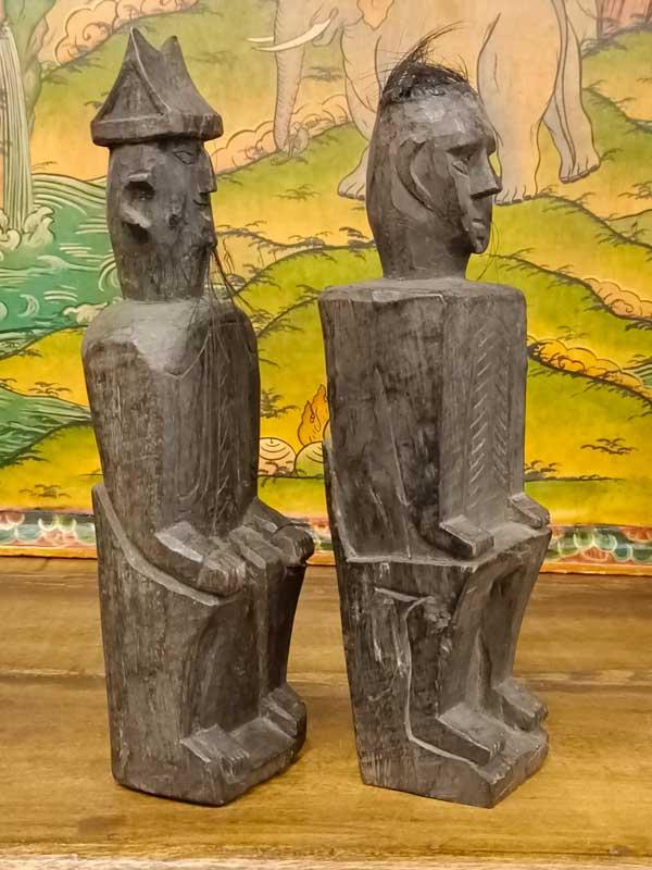 statue coppia etnia yao