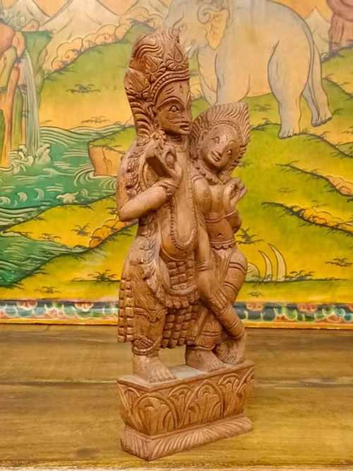 Statua di Shiva e Parvati