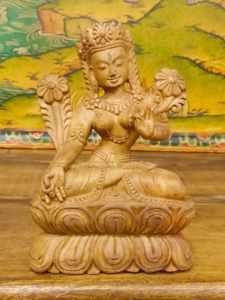 statua tara bianca