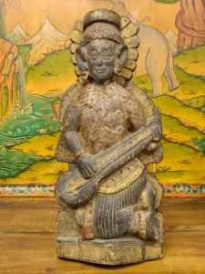 Statua Saraswati