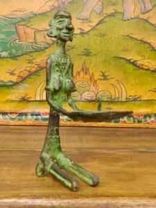 statua votiva con porta cero