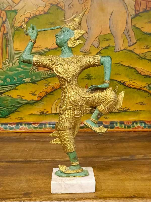 Statua Teppanom danzatore del tempio
